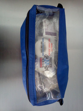 Pet First Aid Kit (Blue)